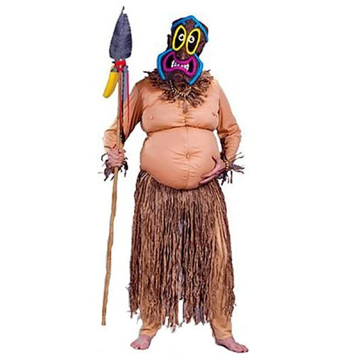 Big Kahuna Costume (As Shown;One Size): Adult Sized Costumes: Clothing