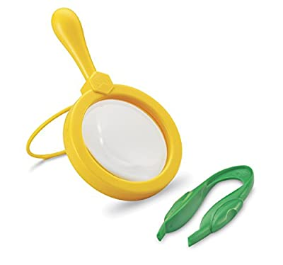 Learning Resources Primary Science Jumbo Magnifier & Tweezer Set