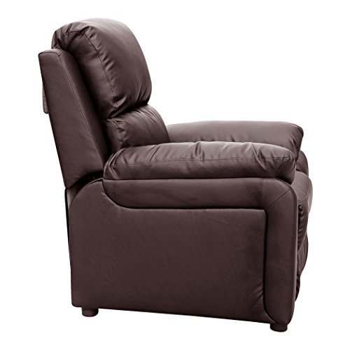 ultimo leather recliner armchair sofa chair reclining home lounge