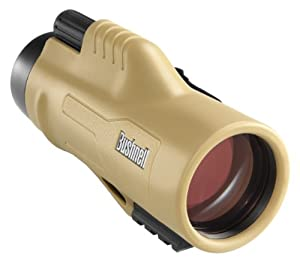 Bushnell Legend Ultra HD Monocular with Mil-Hash Reticle, 10 x 42-mm, Tan by Bushnell