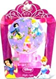 Disney Princess Night Light Pink Cinderella, Belle, Snow White (A)