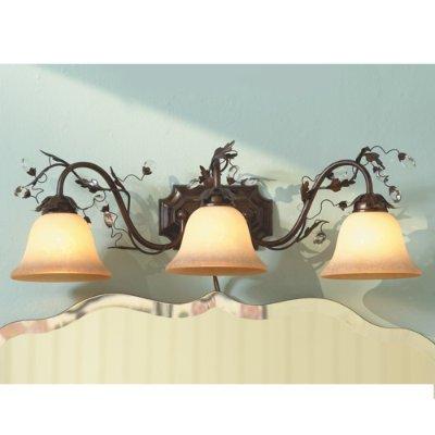 Claire three light vanity bronze ballard designs review
