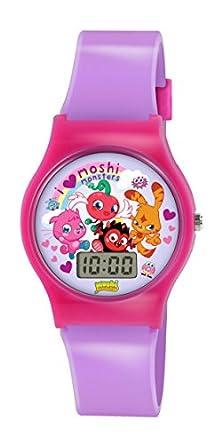 buy Moshi Monsters Lilac Girls Digital Plastic Strap Watch Mm020