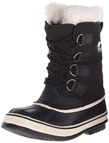 Sorel - Stivali da neve senza rivestimento interno, Donna, Nero (Black, Stone/011), 40