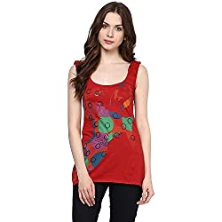 Chlorophile Women's Top (Sin_Pepper Red_10)