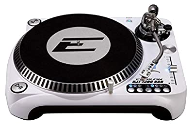 Epsilon DJT-1300 USB DJ Turntable, White