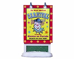 Lemax Village Collection Carnival Sign # 84773