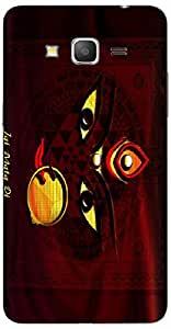 Timpax Light Weight One-piece construction Hard Back Case Cover Printed Design : Maa Durga Navratri.Specifically Design For : Samsung Galaxy Grand 2 Duos ( SM-G7106 )