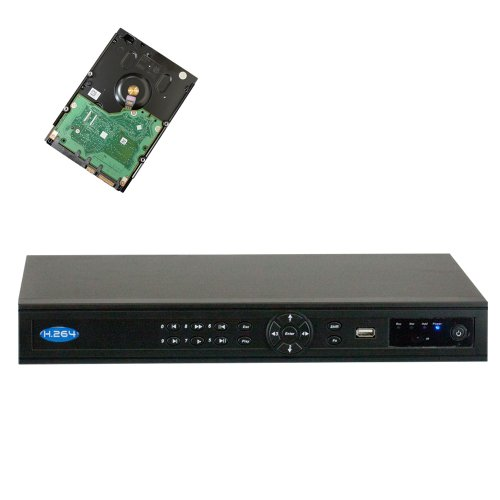 Best Professional 8 Channel Nvr With 1Tb Hard Drive, 1080P Hd Preview, Onvif Agreement, Support Up To 5.0 Magapixel Hd Ip Cameras, 4 Ch Poe Function, 4 Ch Simultaneous Playback, Built-P2P Service. Support Iphone,Windows Moble, Symbian, Andriod, Blackberry front-1039850