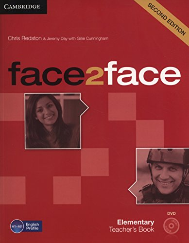 face2face 2nd Elementary Teacher's Book with DVD