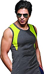 ONN NR625 Mens Assorted Colour Pack of 2 Sports/Gym Vest (Small)
