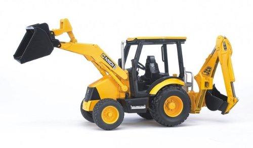 Game / Play Bruder Jcb Midi Cx Loader Backhoe. Truck, Digger, Vehicle, Plastic, Excavator, Ride, Toy Toy / Child / Kid
