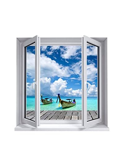 ZZ-Ambiance-sticker Vinilo Decorativo Landscape Rest At The Sea