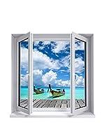 ZZ-Ambiance-sticker Vinilo Decorativo Landscape Rest At The Sea