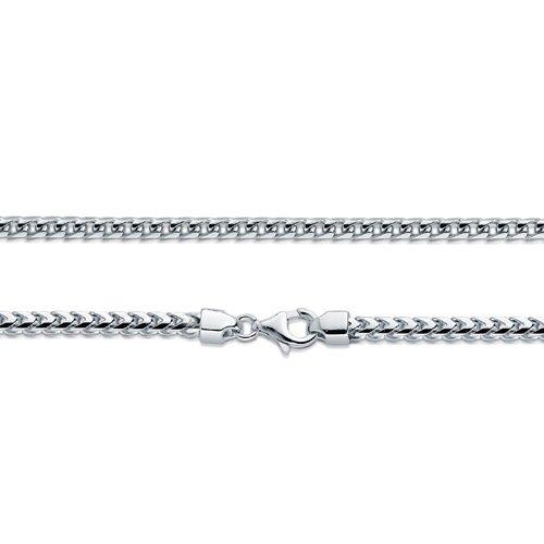 6868263887d4a Reviews BERRICLE Italian Rhodium Plated 925 Silver Franco Chain ...