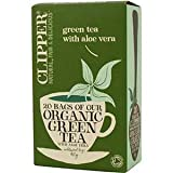 Clipper Organic Green Tea With Aloe Vera 20 Tea Bags 40g - CLIP-4639