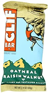 CLIF ENERGY BAR - Oatmeal Raisin Walnut - (2.4 oz, 12 Count)