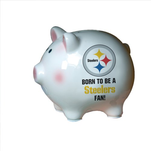 Pittsburgh Steelers Born to be Piggy (The Memory Company)