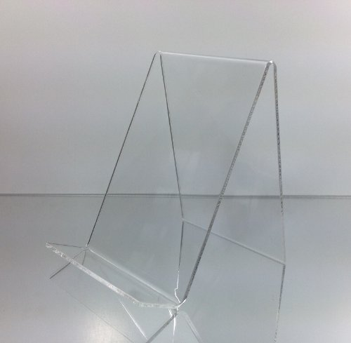 Dazzling Displays 3-Pack of Clear Acrylic Book Easels (Display Easel Acrylic compare prices)