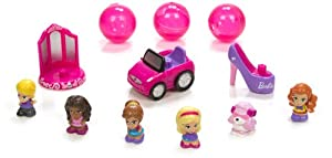 Blip Squinkies Barbie Bubble Pack - Series 6 - Glam with Tiny Toys