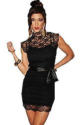 Ruby Womens Polyester Dress (Club-43 _Black _Standard)