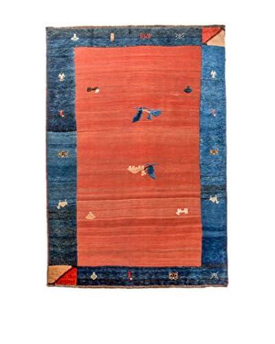 QURAMA Alfombra Persian Gabbeh Azul/Multicolor 240 x 150 cm
