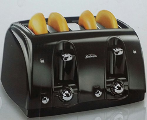 Sunbeam 4 Slice Toaster - Black front-543106