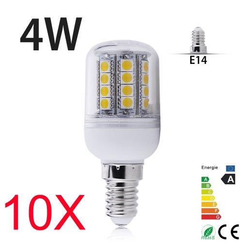4W E14/E27/G9/Gu10 Led Lamp 31 Leds 5050 Smd Warm White Corn Energysaving Light Bulb 230V Hot (10, Ym31-4We14)