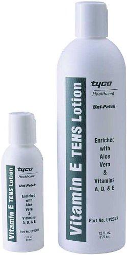 Vitamin E Tens Lotion Travel Combo (2 Oz. Travel Size & 12 Oz. Refill)