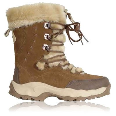 Hi-Tec Lady St Moritz 200 Waterproof Walking Boots – 8 – Brown