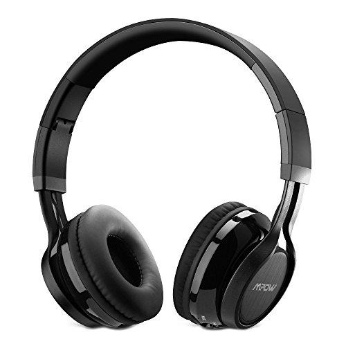 Bluetooth Cuffie Stereo Mpow Thor Pieghevole Auricolari Wireless 4.0 Over-Testa Senza Fili Bluetooth Cuffie Stereo con Microfono per iPhone 6s plus/6s, iPhone 6/6 Plus, iPhone 7/7 Plus, iPhone 5s/5c/5/5SE, iPad, LG G2, Samsung Galaxy S6 Edge+/S6 Edge/S6/ S5/S4/S3, Note 4/Note 3/Note 2, Sony, Huawei P9 ed altri Smartphone e Computer