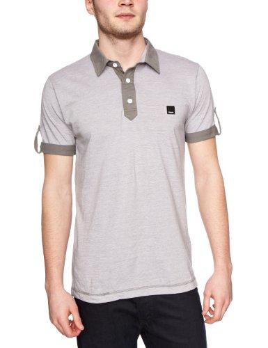 Bench Incredulous Polo Shirt Men's T-Shirt Smoked Pearl Medium