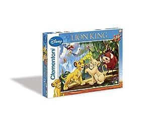 Clementoni - 29530 - Puzzles 250 Pièces - Animal Friends - Roi Lion