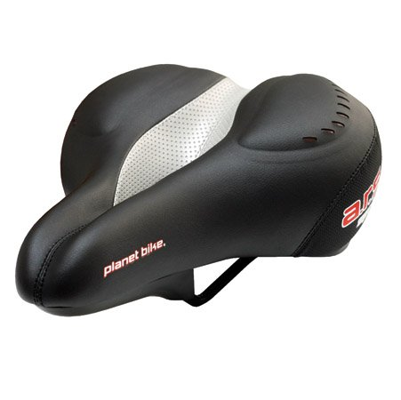 Planet Bike 5019 Men'S Ars Spring Anatomic Relief Saddle With Gel And Elastomer Springs back-1069792
