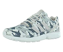 Adidas Zx Flux Men\'s Running Shoes Size US 12, Regular Width, Color Gray/Camouflage