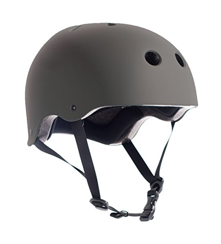 Critical Cycles Classic Commuter Bike and Skate Helmet, Medium/Large, Matte Graphite