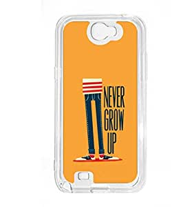 a AND b Designer Printed Mobile Back Cover / Back Case For Samsung Galaxy Note 2 (SG_N2_3005)