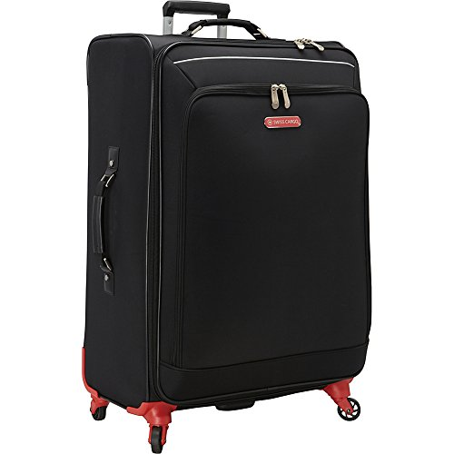 swiss-cargo-petra-28-spinner-luggage-black-silver