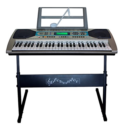 pitchmaster-electric-silver-piano-package-54-key-electronic-music-piano-keyboard-with-stand-micropho