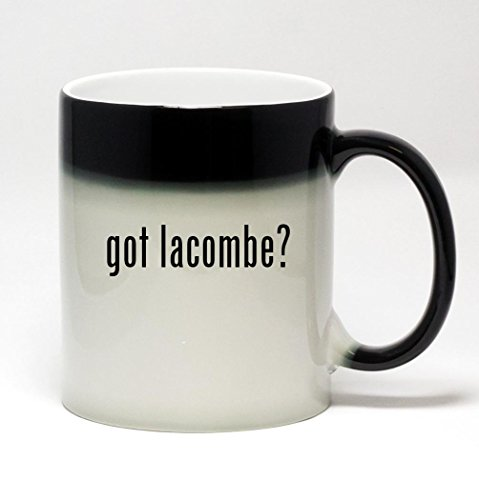 11oz Color Changing Coffee Mug - got lacombe? (Lacombe Coffee compare prices)
