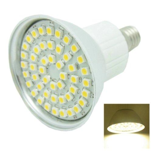 Sencart® E14 48-Smd 3528 Led 85~265V/2.5W 3500K Warm White Lights Bulb #A
