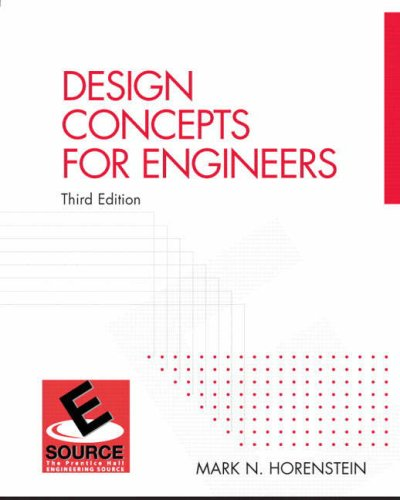 Design Concepts for Engineers (3rd Edition)