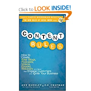 Anne Handley's book Content Rules