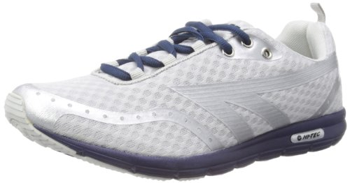 Hi-Tec Mens Shade M Running Shoes A002778 Silver/Navy 7 UK, 41 EU, 8 US Regular