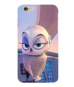 printtech Madagascar Bird Plane Back Case Cover for Apple iPhone 6 Plus