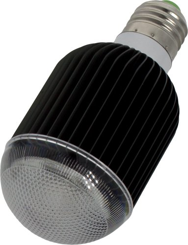 Smartfox 7W RGB LED Glühbirne Lampe E27 multicolor (farbwechsel) dimmbar inkl. Infrarot-Fernbedienung - schwarz