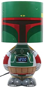 Funko Lamp Clock Speaker - Star Wars: Boba Fett