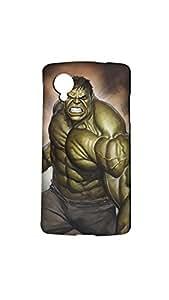 Hulk In Anger Case Forlg Nexus 5