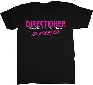 One Direction T-shirt Directioner Forever 1d Regular Fit T-shirt