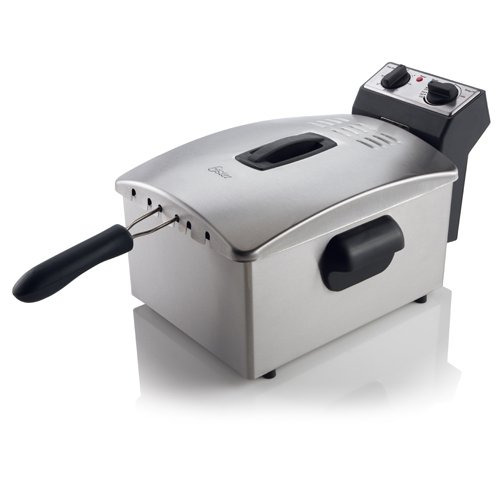 Oster CKSTDFZM77 4-Liter Cool Zone Deep Fryer, Stainless Steel